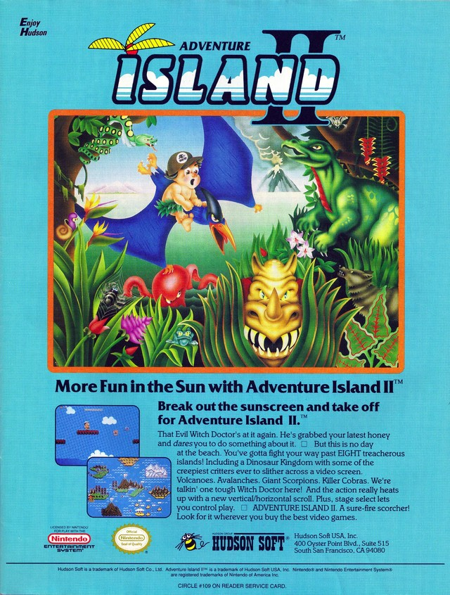 adventure island 2 descargar gratis pc