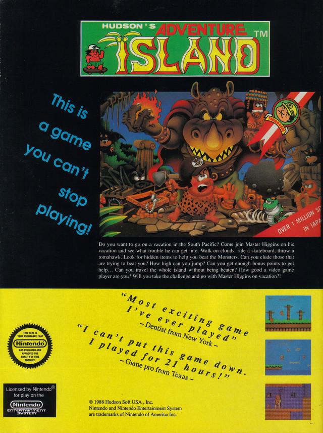 Adventure Island Download Game | GameFabrique