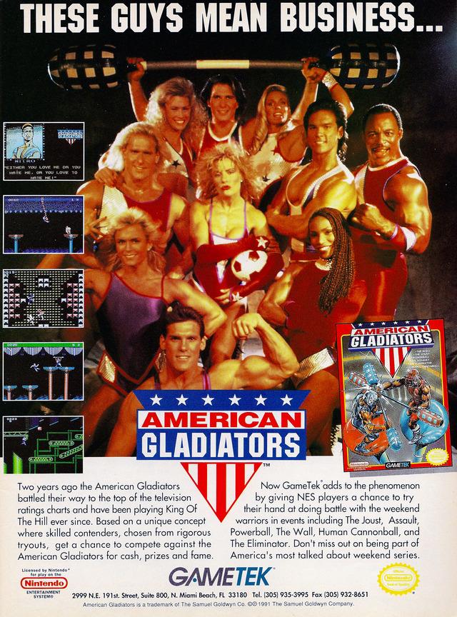 snes american gladiators