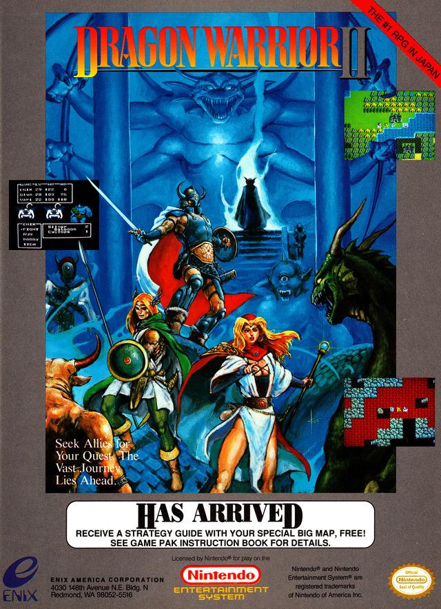 Dragon Warrior 2 Download Game | GameFabrique on