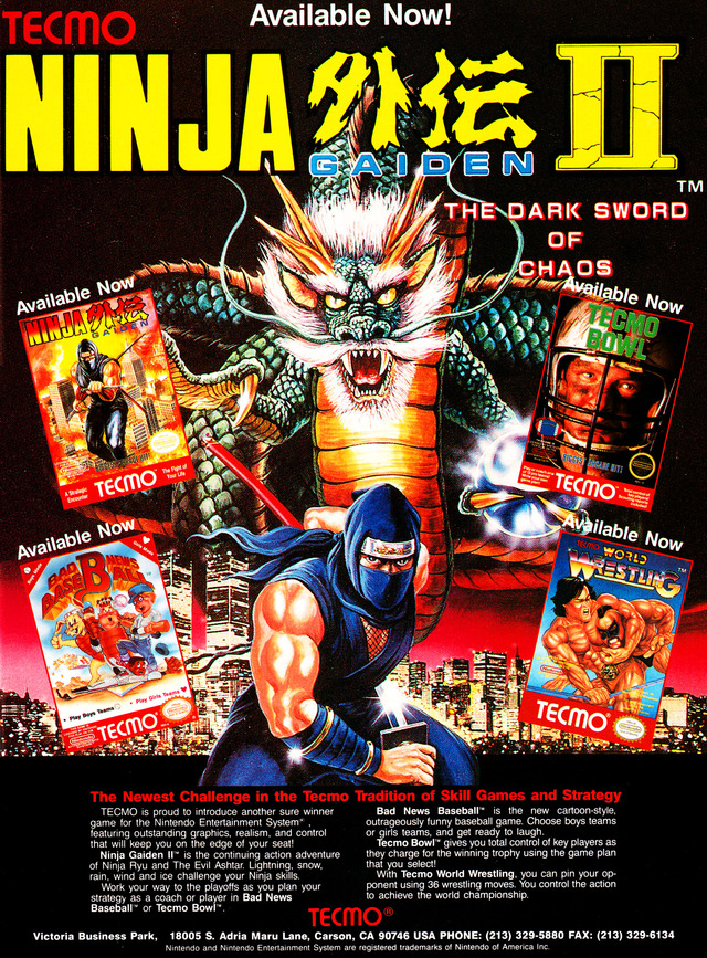 Download Games Ninja Gaiden