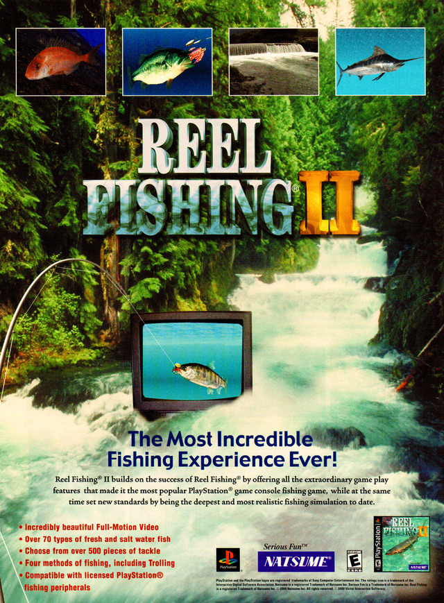 Reel Fishing 2 Download Gamefabrique