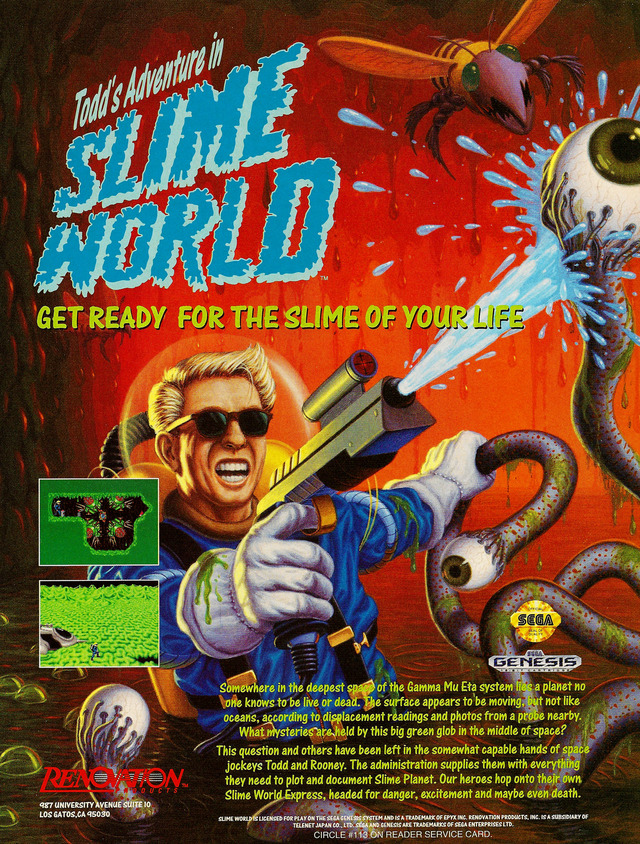 Todd S Adventures In Slime World Download Game Gamefabrique