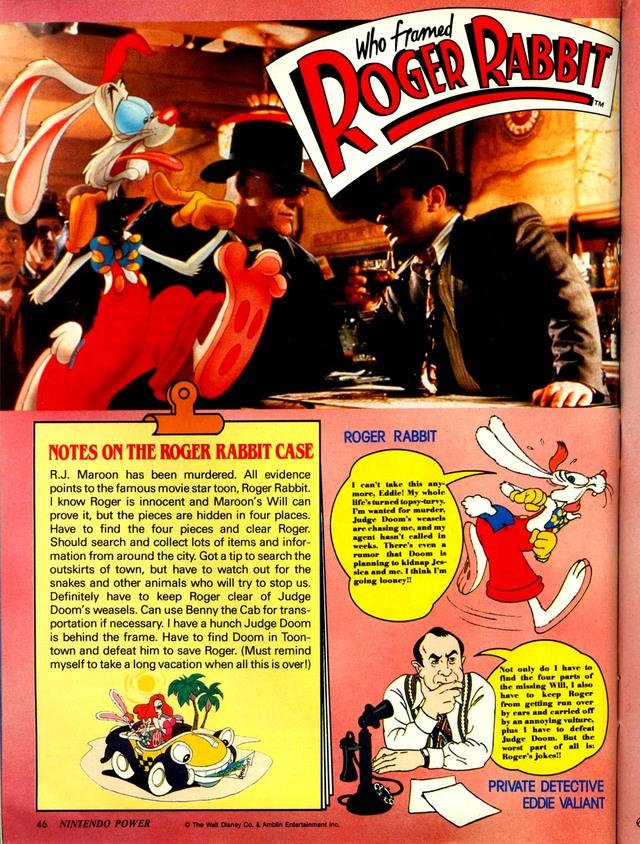 Who Framed Roger Rabbit? Download Game | GameFabrique