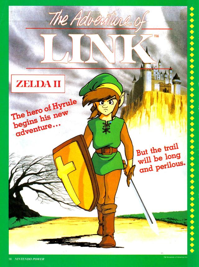 Zelda ii the adventure of link rom