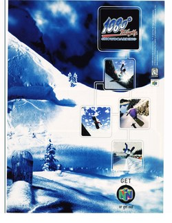 1080° Snowboarding Poster