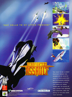 Aero Fighters Assault Poster