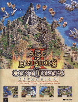 Age of Empires II: The Conquerors Poster
