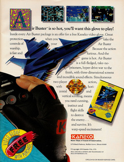 Air Busters Poster