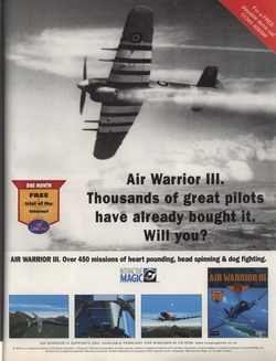 Air Warrior III Poster