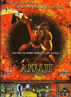 Akuji The Heartless Poster