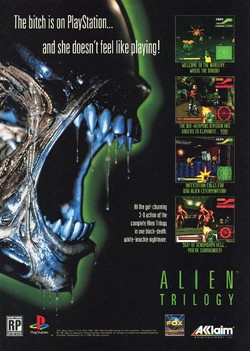 Alien Trilogy Poster