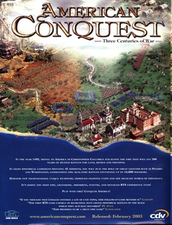 American Conquest Poster