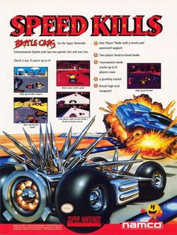 Battle Cars Poster