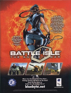 Battle Isle: The Andosia War Poster