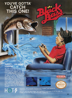 The Black Bass Poster