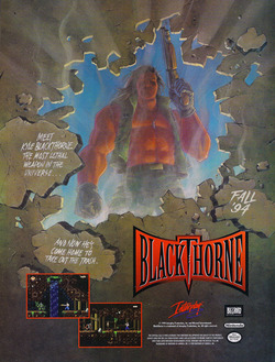 Blackthorne 32X Poster