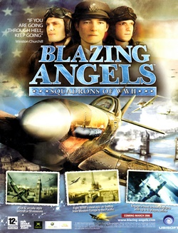 Blazing Angels: Squadrons of WWII Poster
