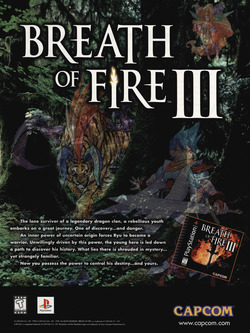 Breath of Fire 3 Poster