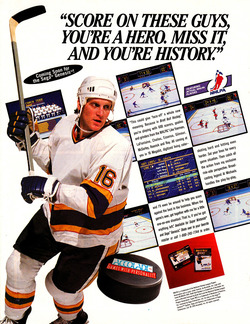 Brett Hull Hockey Poster