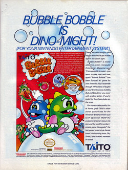 Bubble Bobble Poster