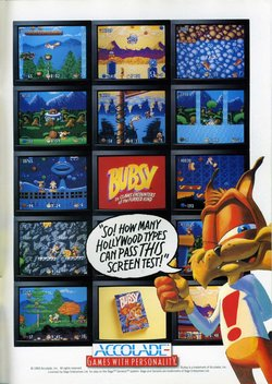 Bubsy Poster