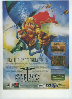 Bug Riders Poster