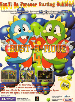 Bust-A-Move 4 Poster