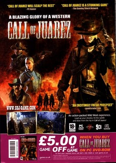 Call Of Juarez Poster