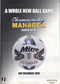 Championship Manager: Season 99/00 Poster
