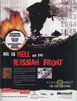 Close Combat III: The Russian Front Poster
