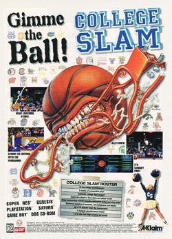 College Slam Poster