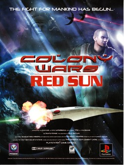 Colony Wars Red Sun Poster
