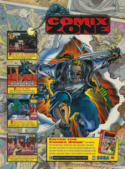 Comix Zone Poster