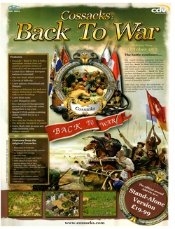 Cossacks: Back to War Poster