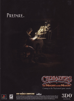 Crusaders of Might and Magic Poster