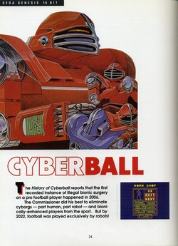 CyberBall Poster