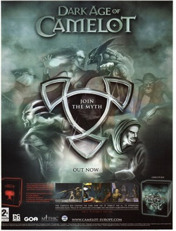 Dark Age of Camelot Poster