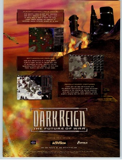 Dark Reign: The Future of War Poster