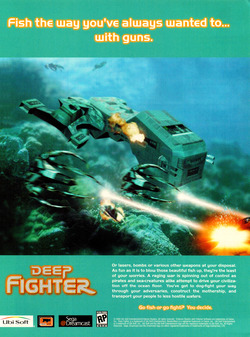 Deep Fighter Poster