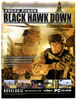 Delta Force: Black Hawk Down Poster