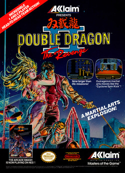 Double Dragon 2 Poster