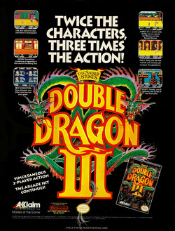 Double Dragon 3: The Rosetta Stone Poster