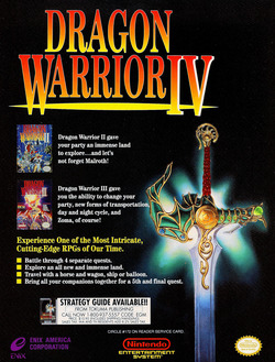 Dragon Warrior 4 Poster