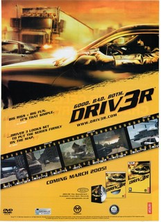 Driv3r Poster