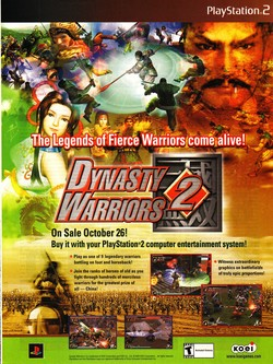 Dynasty Warriors 2 Poster