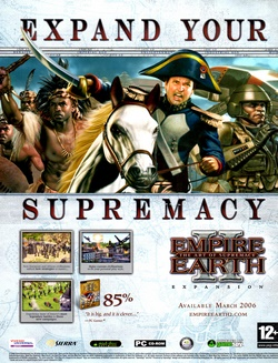 Empire Earth II: The Art of Supremacy Poster