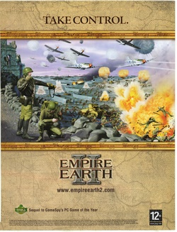 Empire Earth II Poster