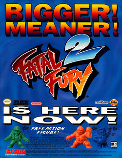 Fatal Fury 2 Poster