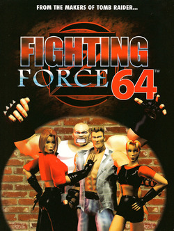 Fighting Force 64 Poster